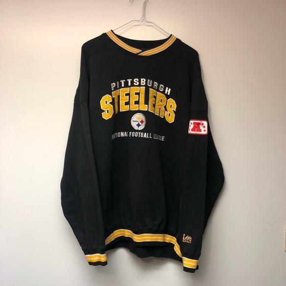 steelers crewneck sweatshirt